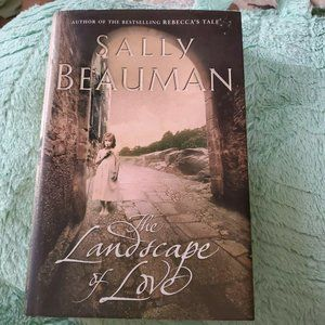 Landscape of Love Book By Sally Beauman hardcover